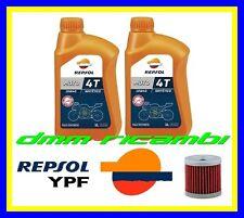 Kit Tagliando SUZUKI DRZ 400 06>07 Filtro Olio REPSOL 10W40 DR-Z E S 2006 2007