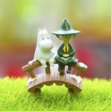Moomin Valley Character Moomintroll and Snufkin Figure Toy Figurine Home Decor