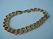 9ct Gold Curb Link Bracelet - Hallmarked