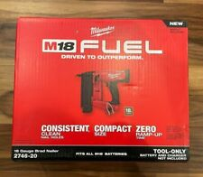 M18 FUEL Brushless 18V Li-Ion 18 Gauge Brad Nailer 2746-20 Tool Only NEW IN BOX