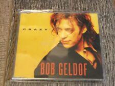 Bob Geldof:  Crazy   four track  CD