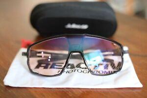 Julbo Rush Reactiv Sunglasses Black/Reactiv High Contrast 1-3 Lenses $230