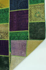 moderne Patchwork Délavé Used Look PERSAN TAPIS tapis d'Orient 3,00 X 2,02