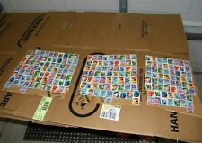 STAMPS, USED DC COMICS SUPER HEROES.  205 STAMPS  @ $.39 =  $79.95
