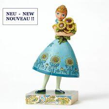 """ENESCO DISNEY Skulptur - """"FROZEN FEVER ANNA"""" - Jim Shore Figur 4050882 - NEU !!"""