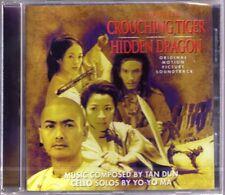 Ziyi Tiger Hidden Dragon Tan Dun Yo-Yo Ma Coco Lee OST sondtrack CD Ang Lee