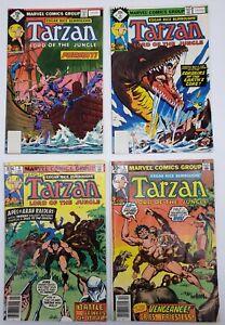 Lot of 5 Tarzan Marvel / Dark Horse Comic Books - Free Shipping!