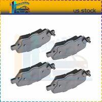 Rear Ceramic Brake Pads Kit Fits Toyota Venza Rear Anti Noise Shim 4pcs/lot