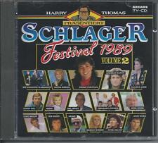V/A - SCHLAGER FESTIVAL 1989 VOLUME 2 CD 19TR (ARCADE) CLAUDIA JUNG, ANDY BORG