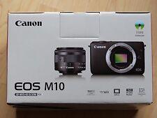 """Canon EOS M10 +15-45mm, 3"""" Touch FullHD WLAN NFC 18 MP, NEU/Gar."""