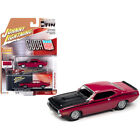 1970 Plymouth AAR Barracuda Moulin Rouge Red with Black Stripes and Hood and ...