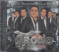 CD - Trono Mexico NEW Que Bonita Es La Vida  -FAST SHIPPING !