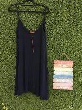 Size M/L Influence Navy Blue Strappy Swing Dress BRAND NEW NWT