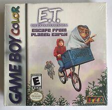 Game Boy Color GBC E.T. FUGA DAL PIANETA TERRA (2001), Nuovo & Sigillato in Fabbrica