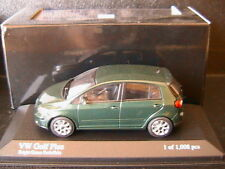 VW GOLF V 5 PLUS RABBIT 2004 DARK GREEN METALLIC MINICHAMPS 400054301 1/43