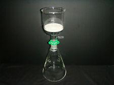 1000ML,Glass Suction Filter Kit,350ML Buchner Funnel & 1000ML Erlenmeyer Flask