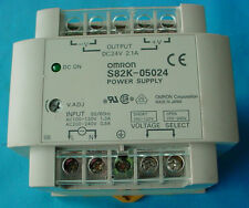 OMRON POWER SUPPLY MODEL S82K-05024 OUTPUT DC24V, 2.1A,INPUT AC100/120, 200/240