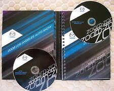 MAZDA PRESS KIT CD ROMs BROCHURE 2009 AND 2010 MAZDA3 USA EDITION