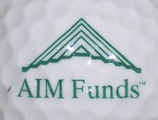 (1) Aim Funds Mutual Funds Investments Logo Golf Ball (Large)