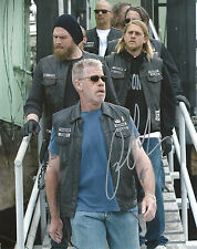 RON PERLMAN 'SONS OF ANARCHY' CLAY MORROW SIGNED 8X10 PICTURE 4 *COA