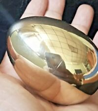 """2.5"""" Golden Egg Very Shiny Beautiful Smooth Shiny Brass Hollow EASTER"""