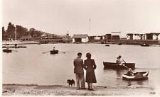 Boating Lake Dovercourt  unused RP old pc Photo Precision