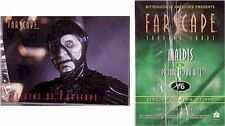 Farscape Preview Set: 6 Card Villains Of Farscape V1-6 Limited to 999