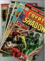 Marvel Bronze-Age 5 Book Horror Lot  1970's Nice VG+ Copies