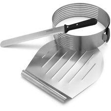 Frieling Zenker 3pc Stainless Steel Layer Cake Slicer / Slicing Kit