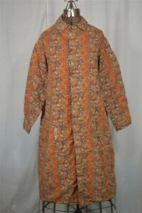 old early 19th c woman's paisley coat lined with plaid wool original 1830