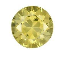 GIA CERTIFIED NATURAL NO HEAT Greenish Yellow Chrysoberyl Round 3.72 CT