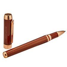 Chopard Clásico Superfast resina acrílica Brown fregona Rollerball Pen 95013-0406