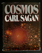 COSMOS Carl SAGAN 1980 FIRST EDITION HCDJ 250 Illust VNT Space Science Astronomy