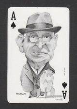 Harry S Truman A Bomb President USA 1973 Political Playing Card issued in Spain