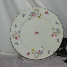 MYOTT TROUVILLE VINTAGE DINNER PLATE STAFFORDSHIRE ENGLAND MULTI FLORAL FLOWERS