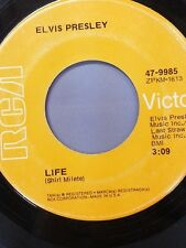 "ELVIS PRESLEY 45 RPM ""Life"" & ""Only Believe"" VG condition"