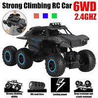 6WD RC Monster Truck Off-Road Vehicle Remote Control Crawler Car 1:12 2.4G