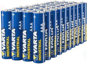 LR3 INDUSTRIAL PACK 40 Piles Varta