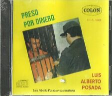 Preso Por Dinero Luis Albert Posada Latin Music CD New