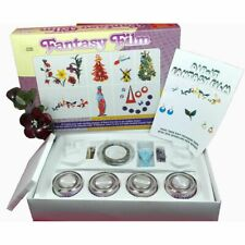 Dip-it Fantasy Film Porcelaine Kit - Complete Set of 4 Colours with Accessories
