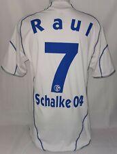 Adidas FC Schalke 04 Königsblau Trikot Gr. M 7 Raul Saison 2010 / 2011