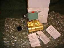 NEW 24 VDC - Asco Brass 2 Way Valve  Normally Closed (19951)