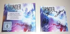 THUNDER Stage Signed Booklet Sealed 2 CD & Blu-Ray DVD