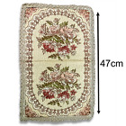 Vintage Victorian Floral Table Runner from 1940s - European Decoration Tapestry