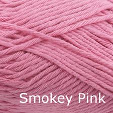 Rico Creative Cotton Aran  - 100% Cotton Knitting & Crochet Yarn- Smokey Pink 14