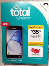 Total Wireless Samsung Galaxy Luna 4G LTE Prepaid Smartphone,