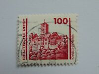 DDR 100 Pfennig(.) Freimarke 1990 mit Plattenfehler Mi 3350 I