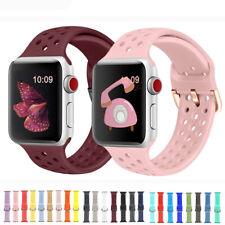 Silikon Sport Band Ersatz Armband für Apple Watch iWatch Series 5 4 3 2 40/44mm