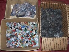 1/4 pound lbs of gemstones fluorite and magnetite magnetic rock