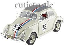 Hot Wheels Elite Disney The Love Bug Herbie #53 VW Volkswagen Beetle 1:18 BCJ94